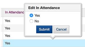 new template app attendance tracker knack blog