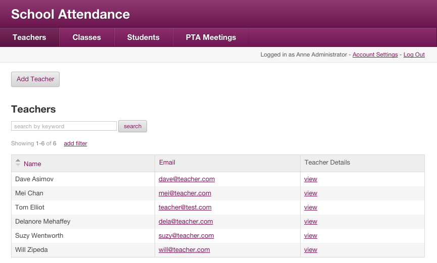 New Template App Attendance Tracker Knack Blog – Sample Attendance Tracking