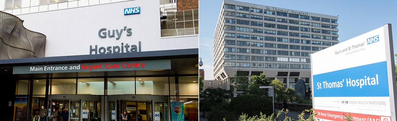 Guys and St Thomas NHS Hospitals