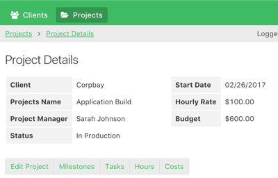 Online Database And Workflow Templates Project Management